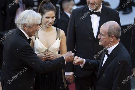 Director Paul Verhoeven (check) Pierre Lescure, (C) Daphne Patakia