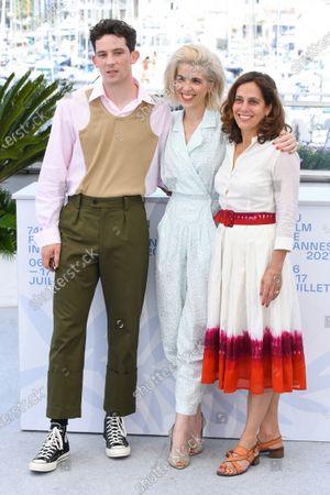 Stock Picture of Josh O'Connor, Eva Husson and Elizabeth Karlsen