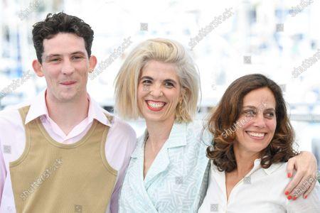 Josh O'Connor, Eva Husson and Elizabeth Karlsen