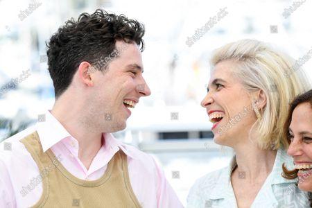 Josh O'Connor and Eva Husson