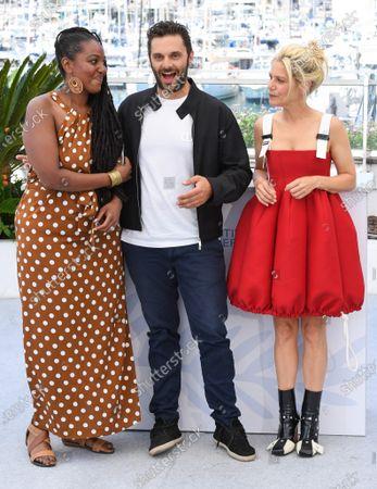 Aissatou Diallo Sagna, Pio Marmai and Marina Fois
