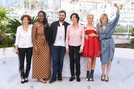 Editorial image of 'The Divide' photocall, 74th Cannes Film Festival, France - 10 Jul 2021