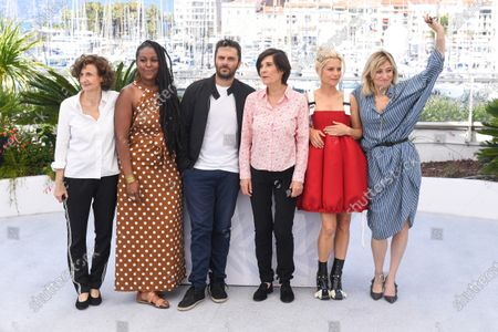 Editorial picture of 'The Divide' photocall, 74th Cannes Film Festival, France - 10 Jul 2021