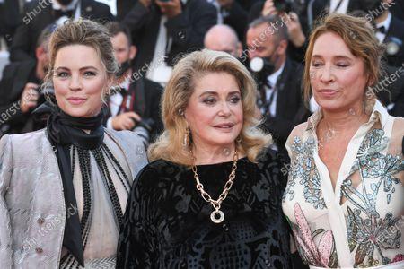 Melissa George, Catherine Deneuve and Emmanuelle Bercot