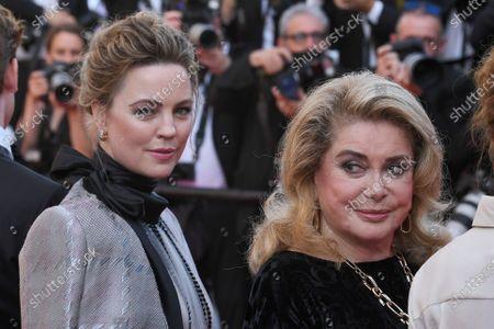 Melissa George and Catherine Deneuve