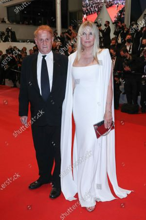 Stock Picture of Mike Medavoy and Irena Medavoy
