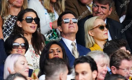 Editorial photo of Wimbledon Tennis Championships, Day 12, The All England Lawn Tennis and Croquet Club, London, UK - 10 Jul 2021