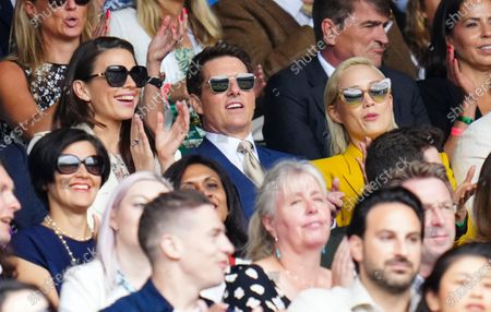 Editorial image of Wimbledon Tennis Championships, Day 12, The All England Lawn Tennis and Croquet Club, London, UK - 10 Jul 2021