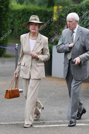 Stock Picture of Penelope Keith and Rodney Timson