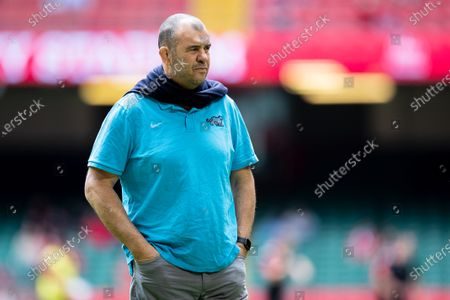 Michael Cheika coach of Argentina ahead of the Rugby International match between Wales and Argentina at Principality Stadium, Cardiff