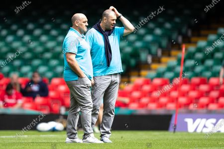 Editorial picture of Wales v Argentina, Rugby International - 10 Jul 2021