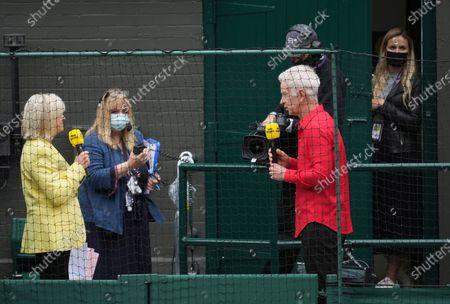 Editorial image of Wimbledon Tennis, London, United Kingdom - 10 Jul 2021