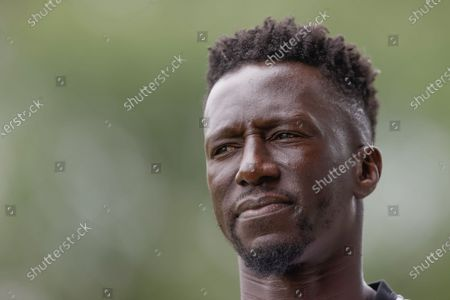 Standard's head coach Mbaye Leye pictured at the start of the match between Belgian first division soccer teams Standard de Liege and KV Mechelen, ahead of the 2021-2022 season, in Liege, Saturday 10 July 2021.