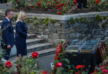 Paul Givan, Northern Ireland's First Minister and Michelle O'Neill, Northern Ireland's Deputy First Minister, attended a wreath laying ceremony marking the 105th anniversary of the Battle of the Somme, in the Irish National War Memorial Gardens, at Islandbridge in Dublin.On Saturday, 10 July 2021, in Dublin, Ireland