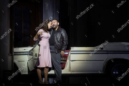 Editorial photo of Rehearsal of the opera 'Lucia di Lammermoor' at Gran Teatre del Liceu, Barcelona, Spain - 10 Jul 2021