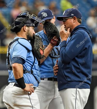 Editorial picture of Blue Jays Rays Baseball, St. Petersburg, United States - 10 Jul 2021
