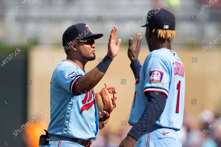 Editorial image of Tigers Twins Baseball, Minneapolis, United States - 10 Jul 2021