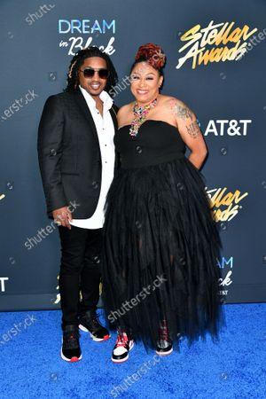 Editorial image of 35th Annual Stellar Awards, Arrivals, Nashville, Tennessee, USA - 10 Jul 2021