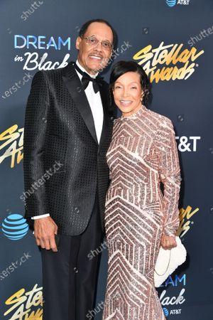 Stock Photo of Dan Jackson and Merri Dee