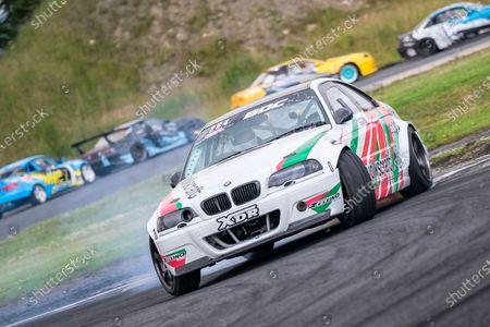 284 - MATT SMITH BMW E36 during Round 2 of the British Drift Championships 2021 at Driftland, Lochgelly
