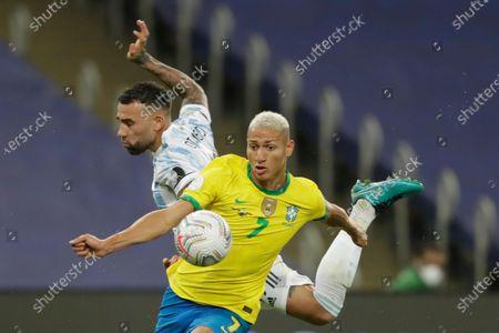 Editorial picture of Argentina Copa America Soccer, Rio De Janeiro, Brazil - 10 Jul 2021