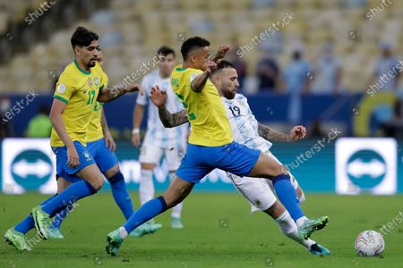 Editorial image of Argentina Copa America Soccer, Rio De Janeiro, Brazil - 10 Jul 2021