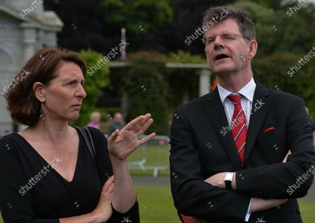 Editorial photo of Battle Of The Somme Commemoration In Ireland, Dublin - 10 Jul 2021