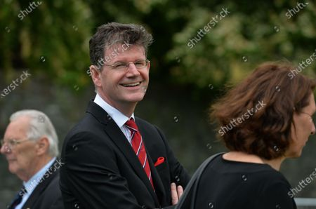 Paul Johnston, the British Ambassador to Ireland, seen during the ceremony marking the 105th anniversary of the Battle of the Somme, in the Irish National War Memorial Gardens, at Islandbridge in Dublin.On Saturday, 10 July 2021, in Dublin, Ireland