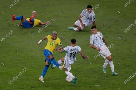 Editorial photo of Argentina Copa America Soccer, Rio De Janeiro, Brazil - 10 Jul 2021