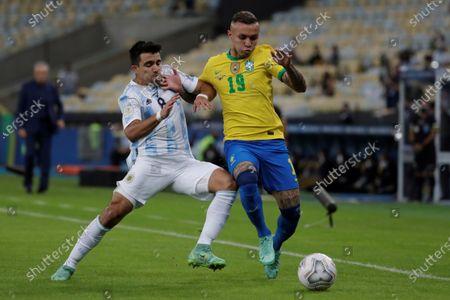 Editorial image of Argentina vs Brazil, Rio De Janeiro - 10 Jul 2021