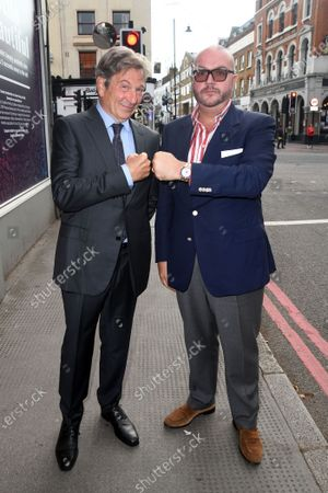 Editorial image of 'Renegades' Filming Islington, London, UK - 10 Jul 2021