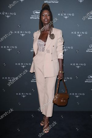Editorial image of Kering Women in Motion Talk with Jodie Turner-Smith, 74th Cannes Film Festival, France - 11 Jul 2021