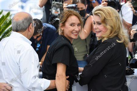 Emmanuelle Bercot and Catherine Deneuve