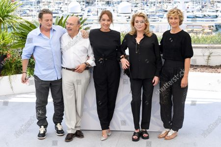 Editorial image of 'Peaceful' photocall, 74th Cannes Film Festival, France - 11 Jul 2021