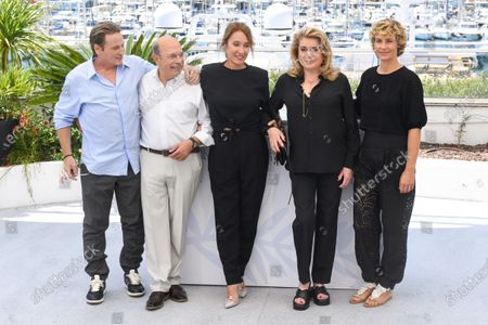 Stock Photo of Benoit Magimel, Gabriel Sara, Emmanuelle Bercot, Catherine Deneuve and Cecile de France