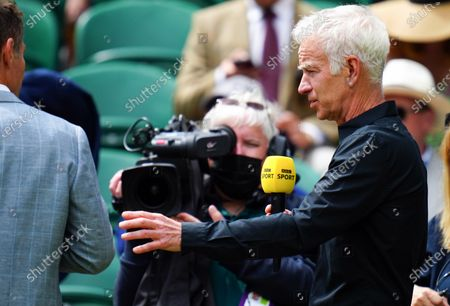 Editorial photo of Wimbledon Tennis Championships, Day 13, The All England Lawn Tennis and Croquet Club, London, UK - 11 Jul 2021
