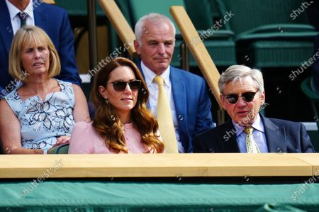 Editorial image of Wimbledon Tennis Championships, Day 13, The All England Lawn Tennis and Croquet Club, London, UK - 11 Jul 2021