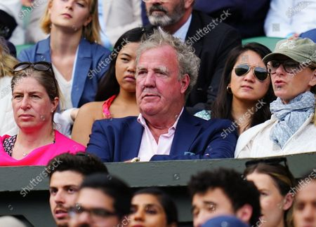 Jeremy Clarkson in the crowd on Centre Court