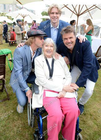 Paul Stewart, Helen Stewart, Guest and Mark Stewart