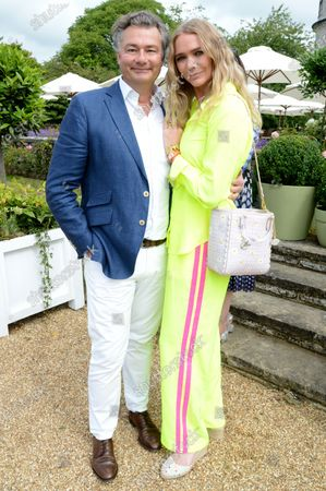 Stock Image of Laurent Feniou and Jodie Kidd
