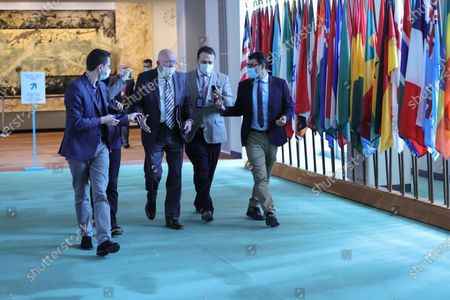 Editorial image of Syria Boarders Crossing Resolution at UN, New York, USA - 09 Jul 2021