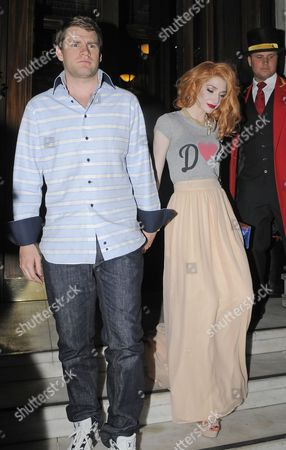 Nicola Roberts and Charlie Fennell