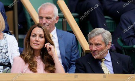 Editorial picture of Wimbledon Tennis, London, United Kingdom - 11 Jul 2021