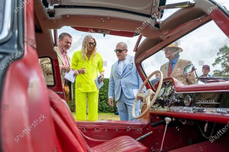 Editorial image of Cartier 'Style et Luxe' at Goodwood, West Sussex, UK - 11 Jul 2021