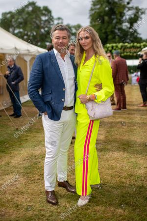 Stock Picture of Laurent Feniou and Jodie Kidd