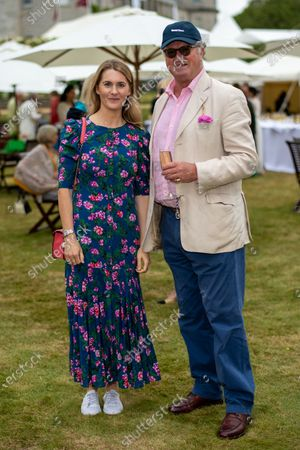 Stock Photo of Lady Kinvara Balfour and Roderick Balfour, 5th Earl of Balfour