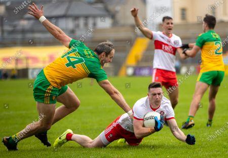 Editorial picture of Ulster GAA Football Senior Championship Quarter-Final, MacCumhaill Park, Ballybofey, Donegal - 11 Jul 2021