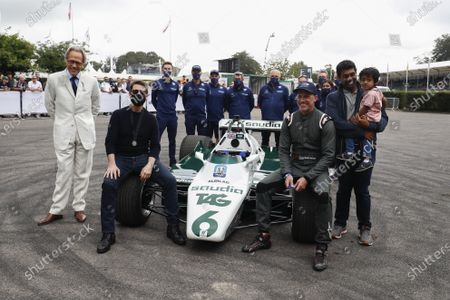 Lord March, Tom Cruise, Wade Eastwood and Karun Chandhok during the 2021