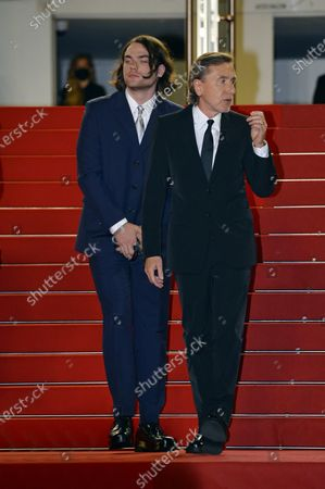 Tim Roth with his son Michael Cormac Roth