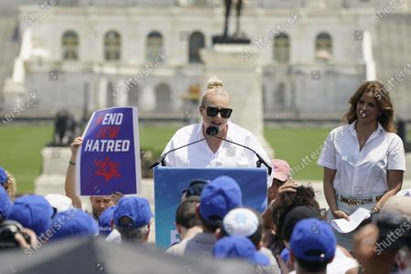 Editorial picture of No Fear: A Rally in Solidarity with the Jewish People, Washington, District of Columbia, USA - 11 Jul 2021